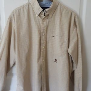 Tommy Hilfiger Sz L 100% cotton button down